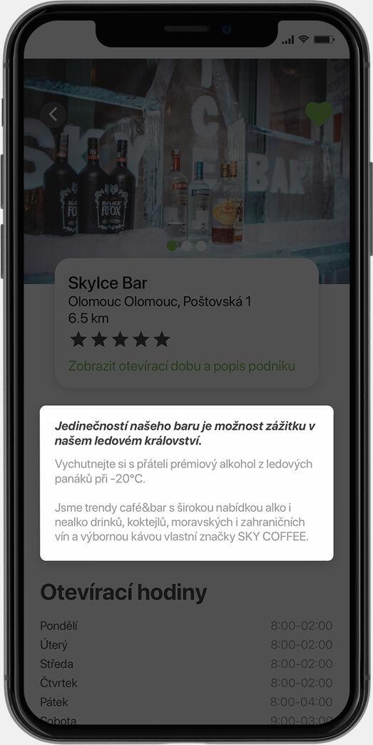 Screenshot aplikace MameChuť